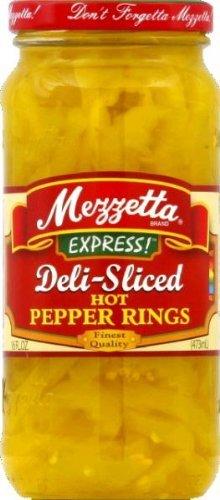 Mezzetta Hot Banana Wax Peppers, Sliced, 16 oz by Mezzetta (Mezzetta Hot Banana Wax Peppers compare prices)