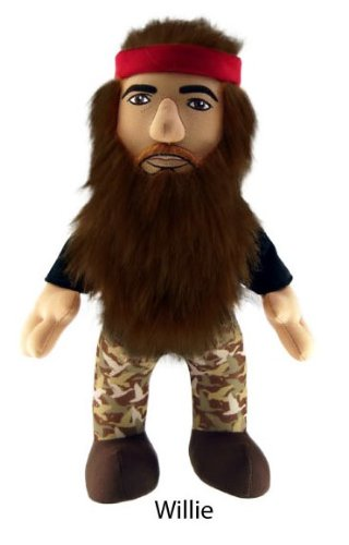 "Duck Dynasty Willie 8"" Plush Character with Sound - 1"