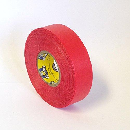 6-rouleaux-Howies-Rouge-chaussette-Shin-Pad-ruban-de-24-mm-x-30-m-Street-Rollers-en-ligne-de-Hockey-sur-glace