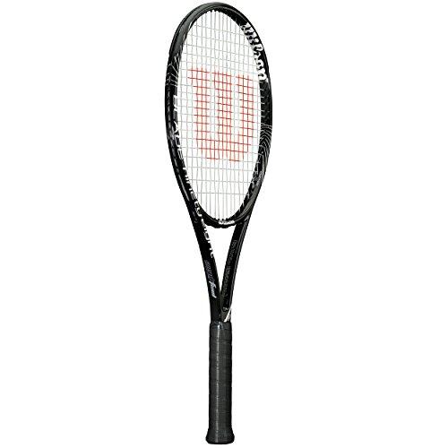 Wilson Tennisschläger Blade, unbesaitet, 98 BLX 18/20, schwarz/silber, RWT71611U