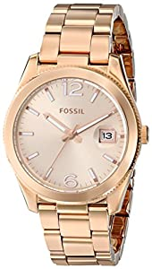 Fossil Women's ES3587 Analog Display Analog Quartz Rose Gold Watch