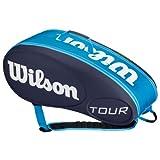 Tour 9 Pack Tennis Bag Blue by Wilson