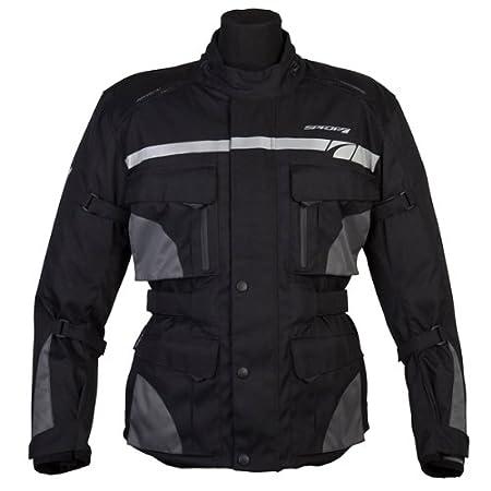 Nouveau 2015 Spada moto Textile veste Vision noir/gris