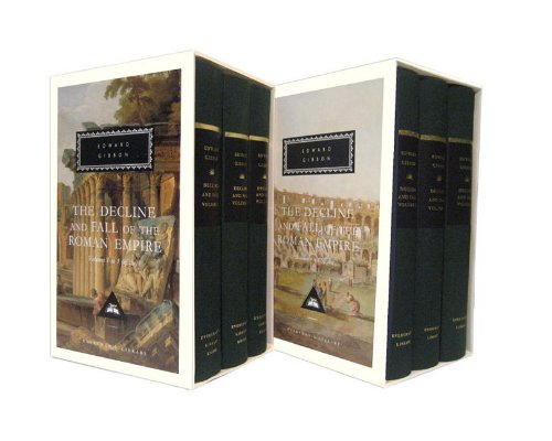 The Decline and Fall of the Roman Empire Set (Everyman's Library)