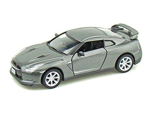 2009 Nissan GT-R R35 1/36 Gray