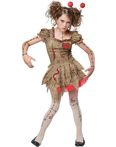 California Costumes Creepy Voodoo Doll Teen Halloween Costume ...