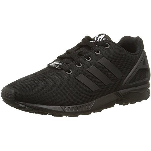 adidas Zx Flux K, Sneaker donna 36 EU, Nero (Nero), 39 1/3 EU