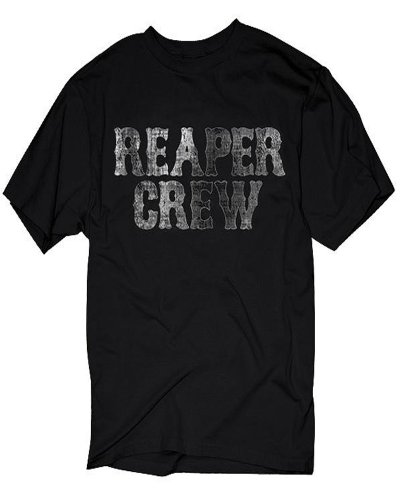 Sons Of Anarchy – Distressed Reaper Crew Logo T-Shirt
