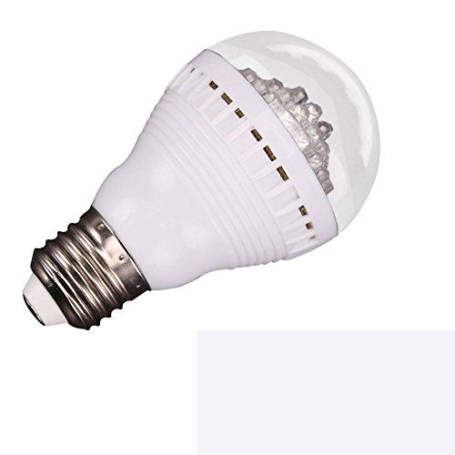 E27 3W 110V 60Led Mini Pyramid Shape Led Bulb Lamp Spotlight Lamp (6000K White)