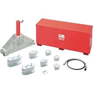Gardner Bender B306S Hydraulic Sweep Bender Set for 1-1/4-Inch to 4-Inch Rigid Steel or Rigid Aluminum Conduit Sweep/Segmental