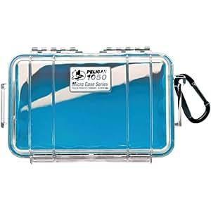 PELICAN 1050-026-100 1050 Waterproof Case (Blue/Clear)