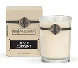 Archipelago Botanicals Signature Gift Candle in Box - Black Currant