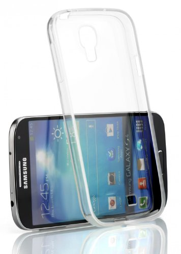 KanvasCases Ultra Thin clear, Transparent, flexible & soft TPU Back cover for Samsung Galaxy S4