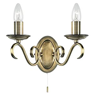 endon light applique murale ancienne chandeliers 2 lumi res cuisine maison. Black Bedroom Furniture Sets. Home Design Ideas