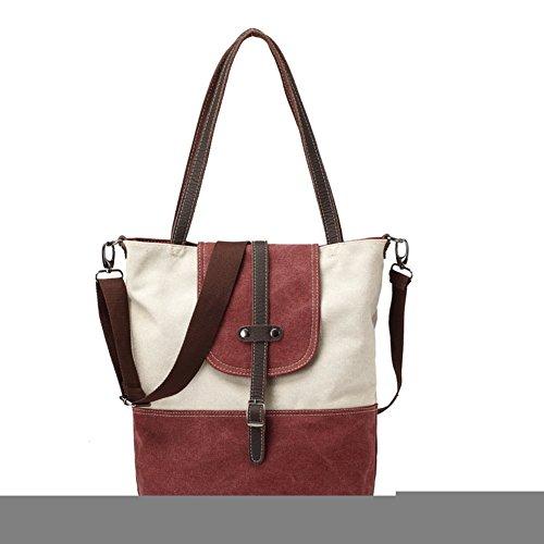 La signora borsa di tela moda/Hit la borsa del messaggero della spalla di colore/Borsa fibbia della cintura-D