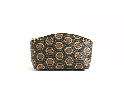 cinda b. Luxe Oxford Zip Pouch, Mod Tortoise, One Size - 1