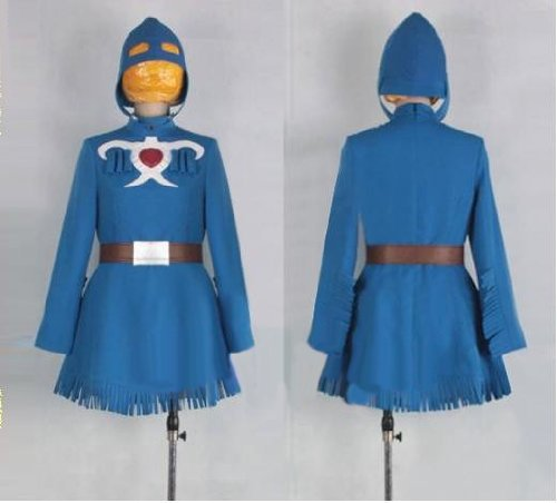 HALLE SHOP---Valley Nausicaa cosplay costume costumes Halloween, Christmas, events, festive fancy dress (custom-made).