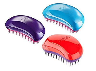 Tangle Teezer Original - Blueberry Pop (Pack of 1, Blue/Pink)