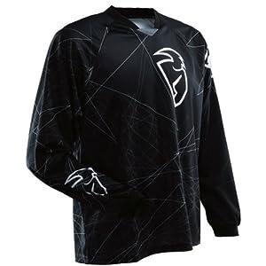 Thor MX Static Men's MotoX Motorcycle Jersey - Black / 2X-Large
