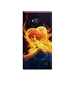 Kratos Premium Back Cover For Nokia Lumia 730