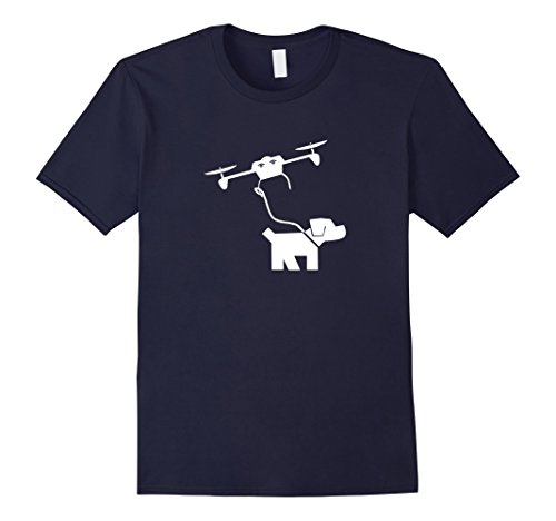 Drone-Dog-Walking-T-Shirt