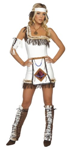 Roma Costume 4 Piece Indian Chief Costume