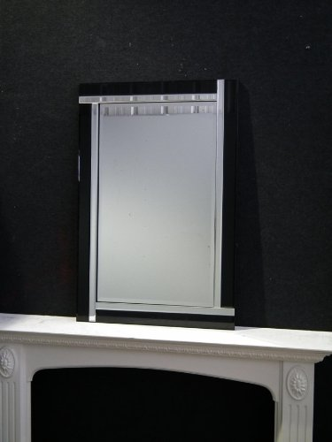 New Evelyn Modern Art Decor Decorative Wall Mirror (90cm X 60cm)