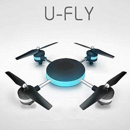U-FLY ドローン カメラ付き WIFI モニター付き FPV 高性能 超大型 LEDライト RCクワッドコプター モニタリング 無線LAN スマホ操作 空撮 生中継 撮影機材 測量 リフティング 4K 6軸ジャイロ 2.4GHz RTF ラジコンヘリコプター 3D飛行 初心者でも安定飛行 360度回転 日本語取扱説明書付き ヘッドレスモード [並行輸入品]