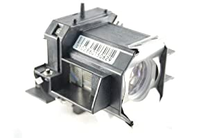 Hitachi CP-HS2000 Projector Housing with Genuine Original OEM Bulb