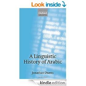 A Linguistic History of Arabic
