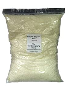 Natural Soy 444 Wax: 5 pound bag