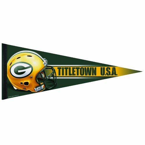 NFL Green Bay Packers 12-by-30 inch Premium Quality Pennant