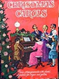 img - for A Golden Book Christmas Carols (Piano Arrangements with Chord Symbols for Organ and Guitar) book / textbook / text book