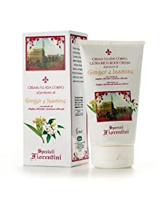 Speziali Fiorentini Body Cream, Ginger and Jasmine, 5.0 Ounce