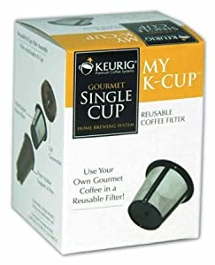 Keurig My K-Cup Reusable Coffee Filter (Gray, 4)