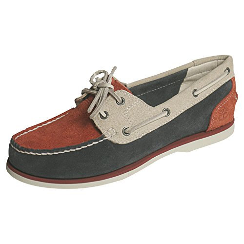 Timberland Womens Earthkeepers Classic Unlined Nauticle Suede Boat Shoe