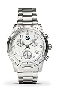 Bmw Quartz Chrono Mens Watch With Stainless Steel Strap from BMW