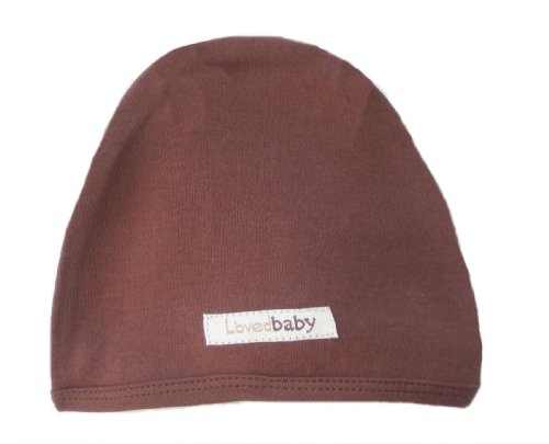L'Ovedbaby Cute Cap, Brown 3-6 Months front-728699