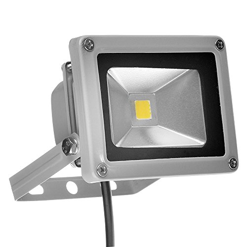 M&MP 110V 10W LED Flood Lights Cool White Outdoor Daylight White Security Light,Super Bright Garden Wall Landscape LED Lamp Outdoor Lighting,Waterproof IP65 Floodlight Lamp Halogen Bulb Equivalent (Indoor Led Wall Washer compare prices)