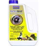 Bonide 691 Molemax Granular Natural Animal Repellent-5LB MOLEMAX REPEL