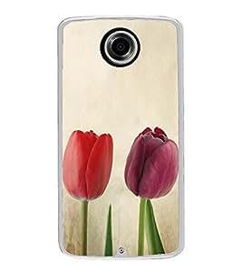Beautiful Tulips Roses 2D Hard Polycarbonate Designer Back Case Cover for Motorola Nexus 6 :: Motorola Nexus X :: Motorola Moto X Pro :: Motorola Google Nexus 6