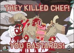 South Park They Killed Chef Magnet