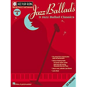 Amazon.com: Jazz Ballads: Jazz Play-Along Volume 4 (Jazz Play ...