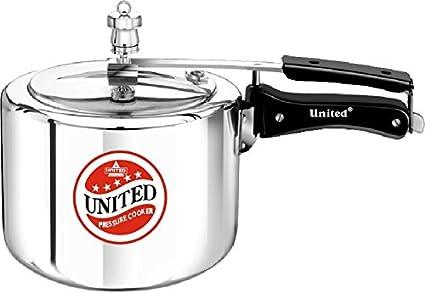 United Aluminium 3 L Pressure Cooker (Inner Lid)
