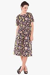 Floral Top & Skirt(Floral003 & Floral002_Multicolor_XL)