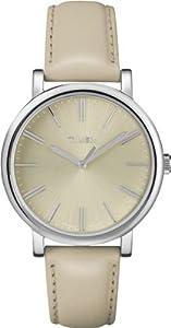 Timex Damen-Armbanduhr Style Analog Quarz Leder T2P162