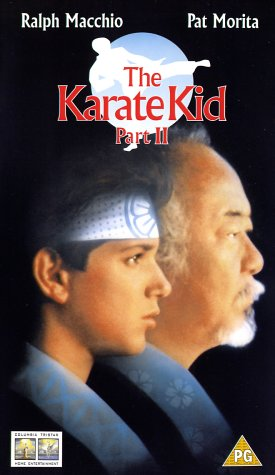 Karate Kid 2 - The Story Continues [VHS] [UK Import]