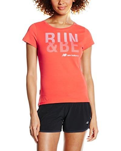 New Balance T-Shirt koralle S