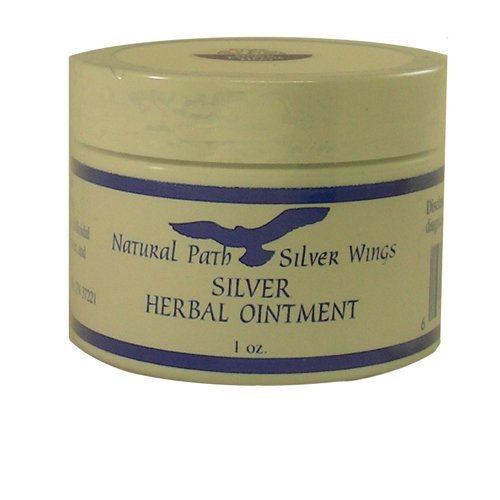 Silver Herbal Ointment - 1.5 oz - Ointment
