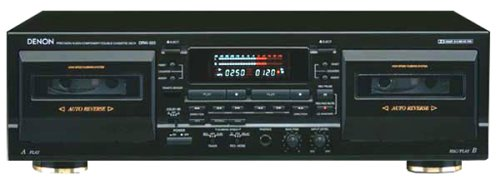 Great Deal! Denon DRW-585 Dual Well Cassette Deck
